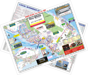 Bribie Island Map & Business Directory