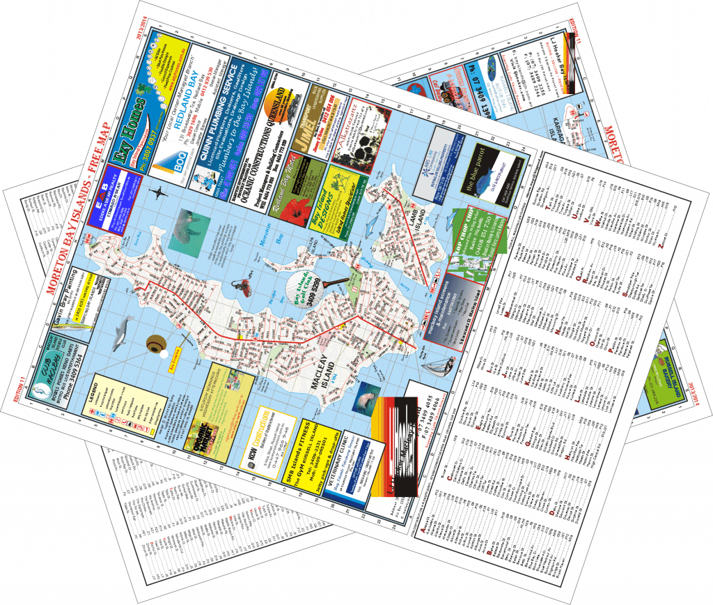 Morton Island Map & Business Directory