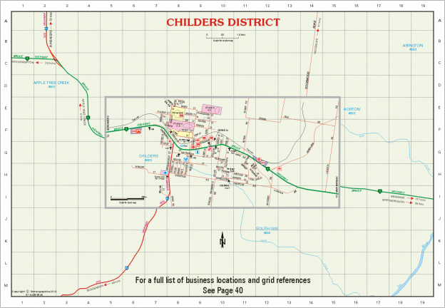 Town and District Maps