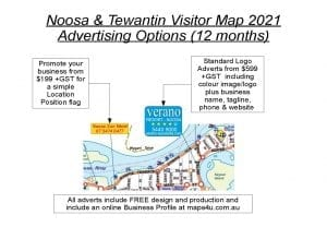 Noosa Map Advertising Options