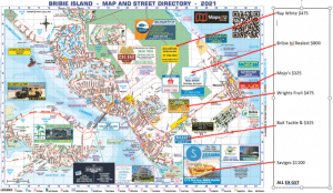 Bribie Island Map 2021